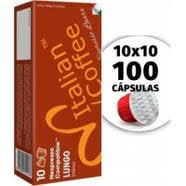 Compatibles Nespresso Lungo 100 Capsulas