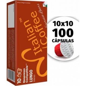 100 Capsulas Lungo Nespresso Delonghi