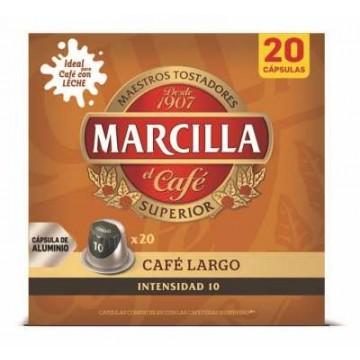 Café Largo Marcilla 20 Capsulas Nespresso