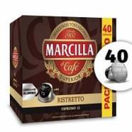 Marcilla 40 Cápsulas Ristretto para Nespresso