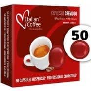 50 Capsulas Cremoso Nespresso Pro Compatibles