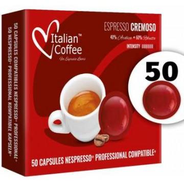 Cremoso Nespresso Pro 50 Capsulas Planas