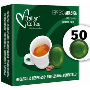 Arabica Cafe Nespresso Pro 50 Capsulas Compatibles