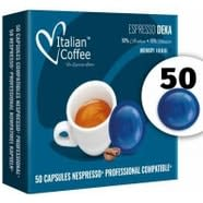 Descafeinado Nespresso Profesional 50 Capsulas