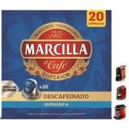 Capsulas Marcilla Descafeinado 10 ud
