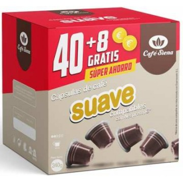 OFERTA Origen Nespresso Suave 48 Capsulas