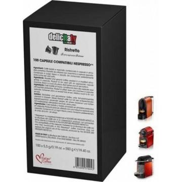 100 Capsulas Ristretto Nespresso Compatibles