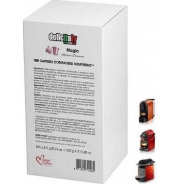 Nespresso MAGIA Arabica 100% Capsulas Compatibles