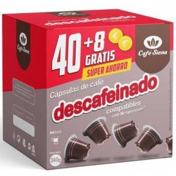 OFERTA Origen Nespresso Descafeinado 48 Capsulas