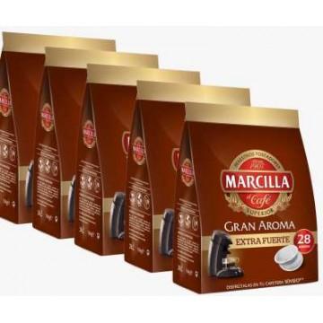 140 Café Senseo Marcilla Extra Fuerte