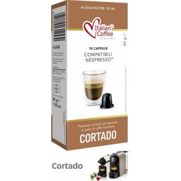 Cortado Nespresso®* Compatibles 10 Capsulas