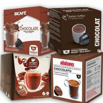Compatibles Dolce Gusto Chocolate Kit 58 ud