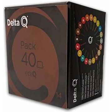 Cafe Delta XL Epic 40 Capsulas Intensidad 14