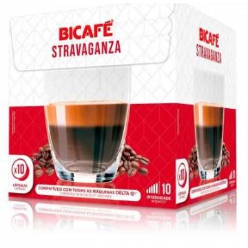 Bicafe Capsulas Delta Compatibles Stravaganza 10 ud