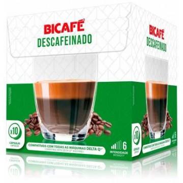 Bicafe Compatibles Delta Q(*) Descafeinado 10 ud