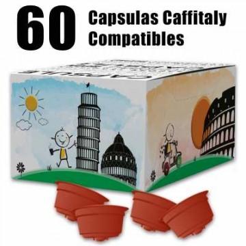 60 Capsulas Caffitaly Compatibles Cremoso