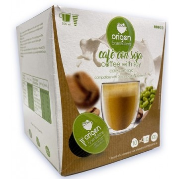 Cafe con Soja 10 Capsulas Origen Dolce Gusto®