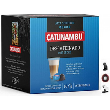 Catunambu Café con Leche Descafeinado 16 ud