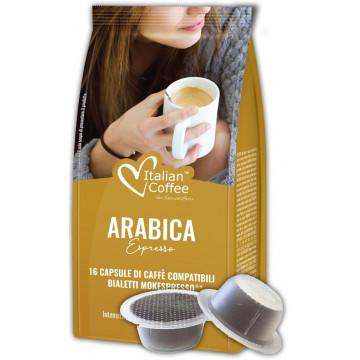 Cafe Bialetti 100% Arabica 16 Capsulas Compatibles