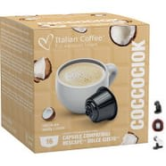 Chocolate Blanco y Coco para Dolce Gusto 16 ud