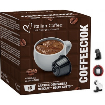 Chocolate Sabor a Cafe 16 Capsulas Dolce Gusto