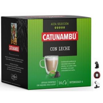 Catunambu Dolce Gusto®* Café con Leche 16 ud