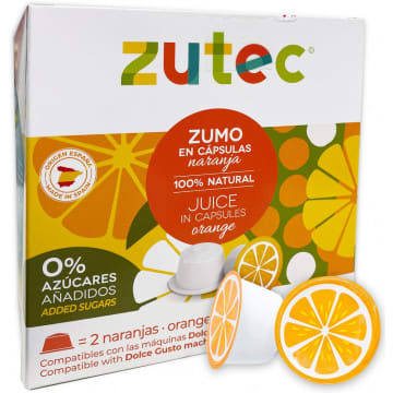 Zumo Naranja Natural Dolce Gusto - 12 Capsulas