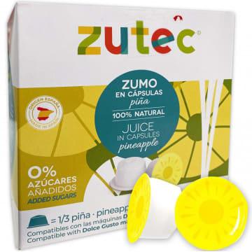 Zutec Piña Natural Dolce Gusto - 12 Capsulas