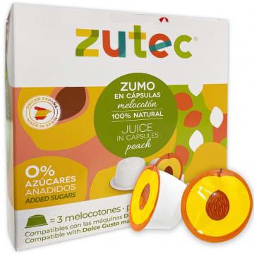 Zumo Melocotón Dolce Gusto 12 Capsulas Zutec