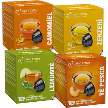 64 Capsulas Infusiones Dolce Gusto Kit