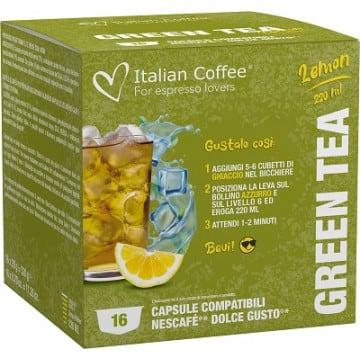 16 Bebidas Heladas de Te Verde para Dolce Gusto