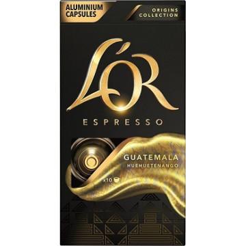 L`Or Espresso Guatemala 10 Cápsulas Aluminio