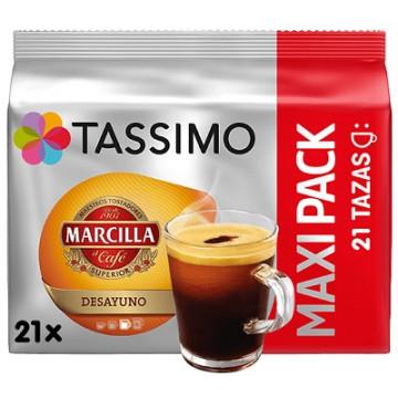 Tassimo Marcilla Desayuno 21 bebidas