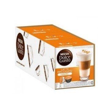 Dolce Gusto Latte Macchiato Caramel 3 Packs 4.4 Ud