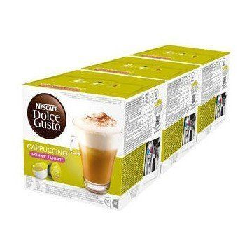Dolce Gusto Cappuccino Light 3 Packs 4,4 Ud