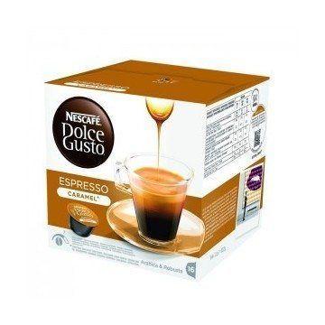 Nescafe Dolce Gusto Cafe Espresso Caramel 16 Ud