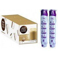 DOLCE GUSTO CAFE CON LECHE 3 PACKS+50 VASOS