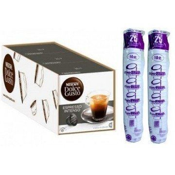 DOLCE GUSTO INTENSO 3 PACKS+50 VASOS