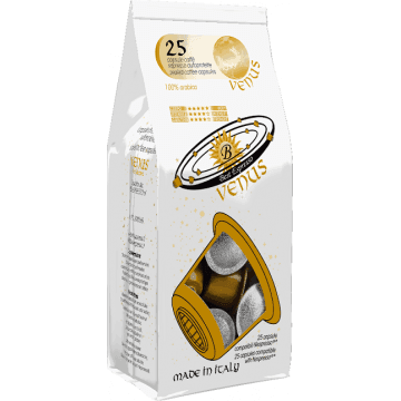 Compatibles Nespresso®* Venus 100% Arábica 25 ud