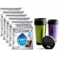 TASSIMO OREO 5 PACKS + VASO TERMICO