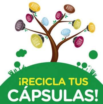 Reciclaje de capsulas dolce gusto