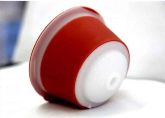 Paquete de dos c/ápsulas C/ápsulas de caf/é Dolce Gusto recargables Madama reutilizables y compatibles Acero inoxidable y silicona apta para alimentos 100//% fabricado en Italia